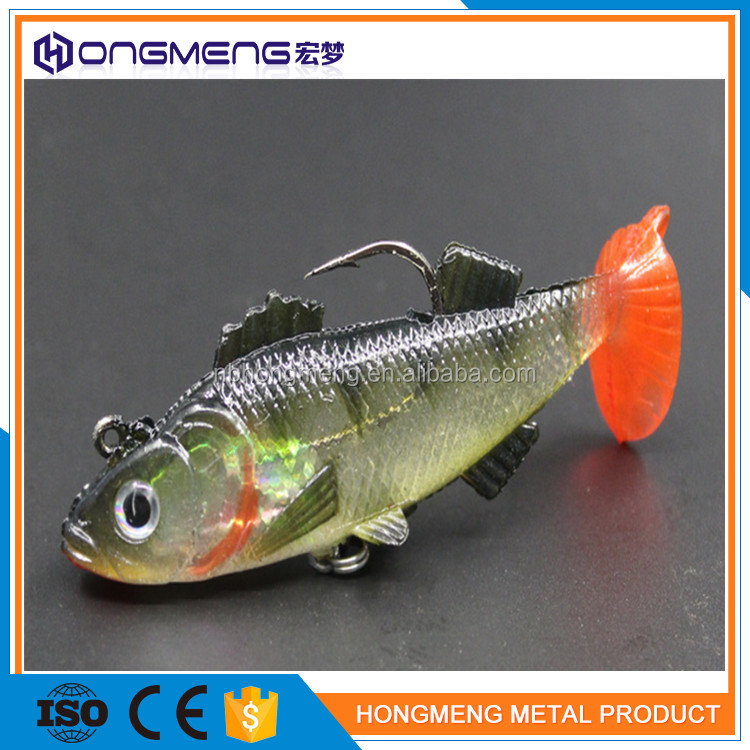 Trolling Casting Spoon S Shape Metal Fishing Tackle Lure