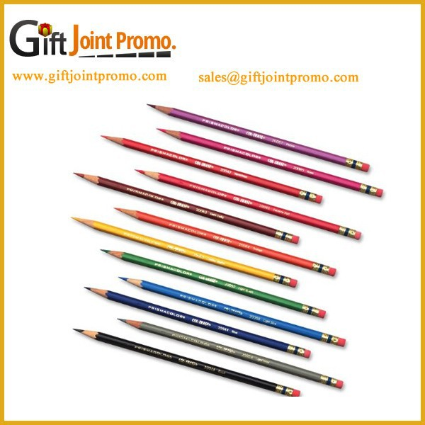 Wholesale HB Pencil with Eraser, Custom Imprint School Pencil
