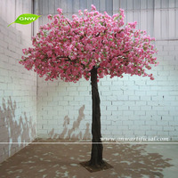 BLS1506-2 GNW artificial sakura flower trees sale for wedding decoration