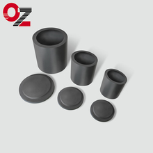 High purity graphite crucible for melting gold sliver jewelry