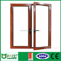 Aluminum Double Casement Sash Window with AS2047 Certificate