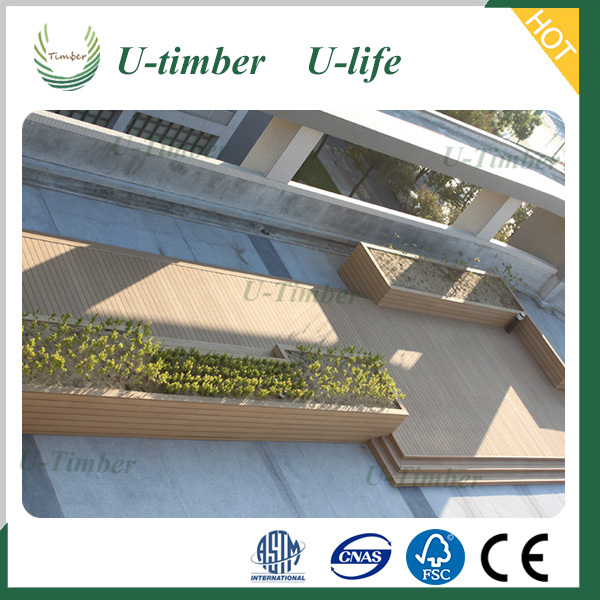Easily Installed wpc decking floor made in China