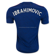 New Ibrahimovic jersey 2016 17 Man football shirt soccer uniform customize name number top Thai quality