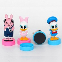 Customization plastic self-inking kids toy cartoon stamps, self inking stamp