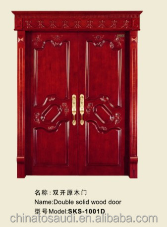 classical interior solid wood doors design
