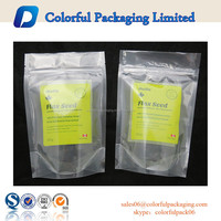 Plastic food packaing vacuum bag clear plastic pouches