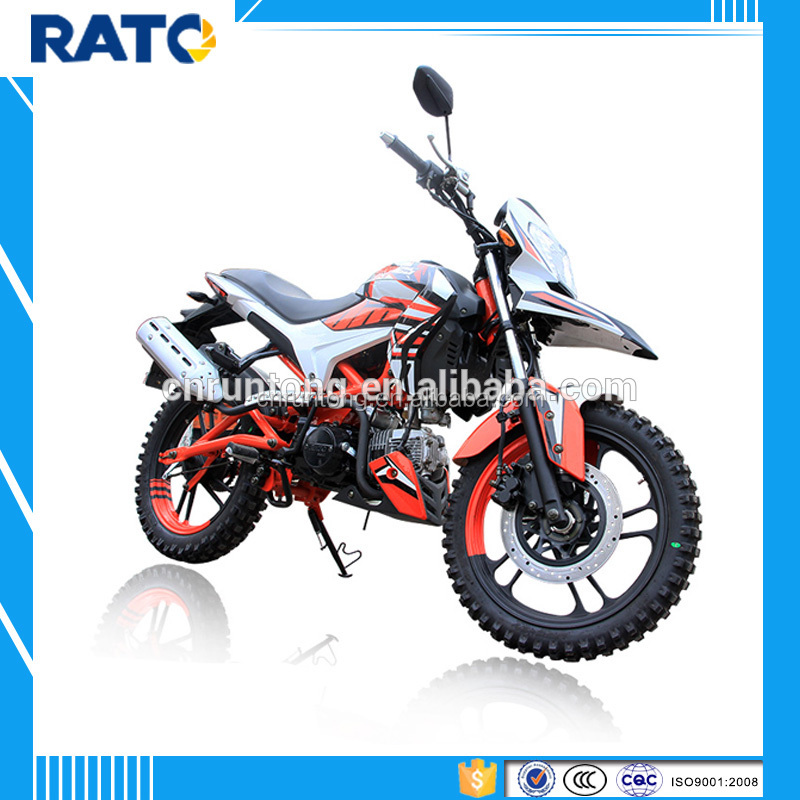 125cc racing motorcycle dirt motorbike with horizontal engine