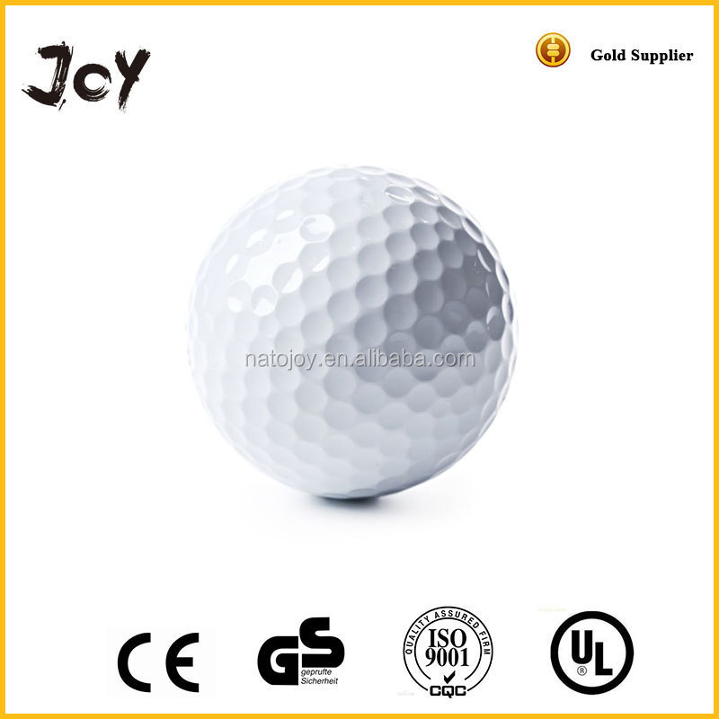 Wholesale blank white rubber outdoor training customized logo large golf balls