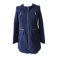 Hot Sales High End Different Designs Denim Trench Coat