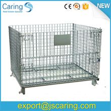 Galvanized collapsible used steel cargo containers for sale