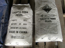 99% Caustic Soda ,Sodium Hydroxide pearl / flakes -- SGS inspection