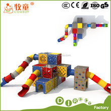 Toodler Amusement Park Outdoor Playground Climbing Wall Playground