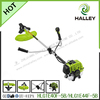 2 stroke 43cc gasoline 2 hp brush cutter with 3T blade and nylon cutter