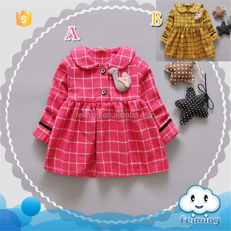 Beautiful petticoat plaid for children girls skirt baby dress china suppliers baby clothes