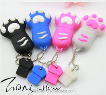 Promotional price cartoon claw model usb memory stick usb flash drive pen drive