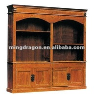 Reproduction vintage chinese classical antique solid wood kitchen cabinet