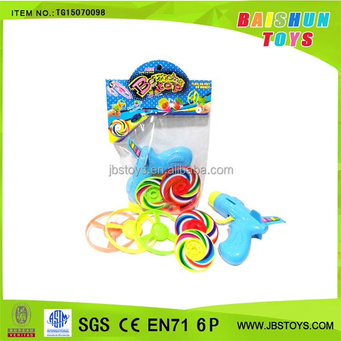 Promotion toy flyer and spinning toys with fan tg15070098