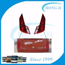 6128 Wuzhoulong led rear light 2007-11 for bus tail lamp with 24v