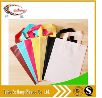 plastic shopping bag logo t shirt reusable bags manufacturers