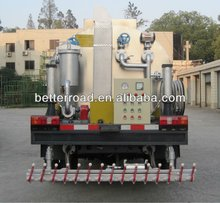 Truck mounted Emulsion Bitumen Distributor/asphalt sprayer of 2000L tank