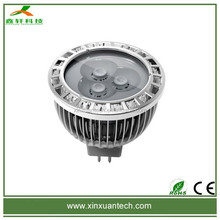 High quality 3w 5w led spot light bulb mr16/e27/gu10 lamp base par light
