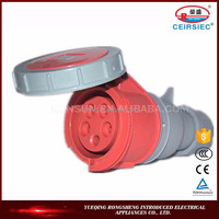 installed easily 3P+E 240V-415V IP67 high quality kema keur electrical connector