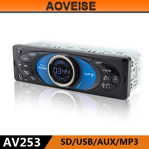AOVEISE AV253 car audio link usb sd mp3 interface wholesale china supplier car amplifier.hot car speaker audio to Isreal