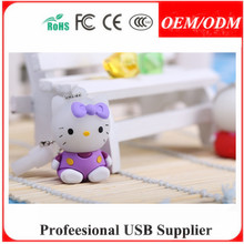 custom M Queen cartoon character pvc bulk 1gb usb flash drive , Paypal/Escrow accept
