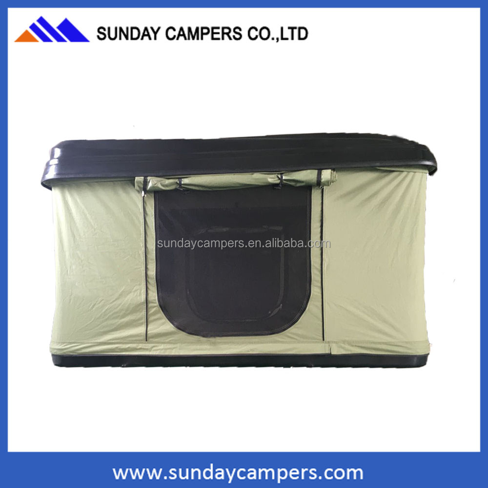 Hard Shell free standing Roof Top Tent 4X4 truck tent for camping