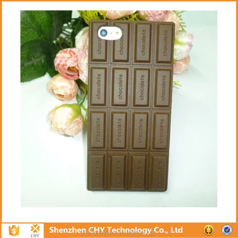 Custom Made Phone Silicone Chocolate Case For LG Optimus L3 II E435