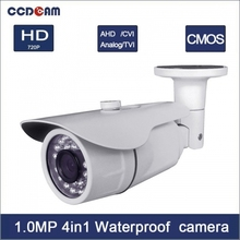 1MP CMOS Security AHD/TVI/CVI/CVBS 4IN1 CCTV Camera With 3.6mm Fixed Lens
