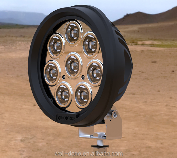 Oledone jeep lighting with super spot, powerful pencil beam lighting