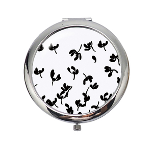HX-7031 Blue dolphin cheap metal compact mirror