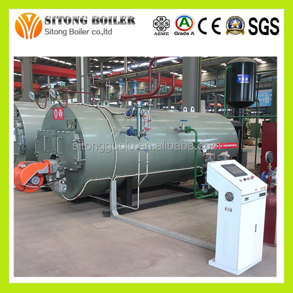 Safety Value 3mw gas oil steam boiler