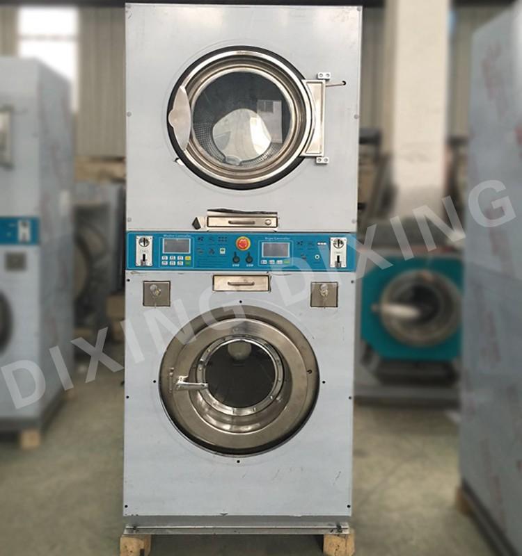 stack washing machine and dryer