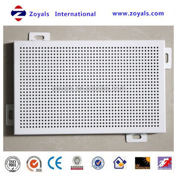 2015 high quality perforated plastic mesh panel