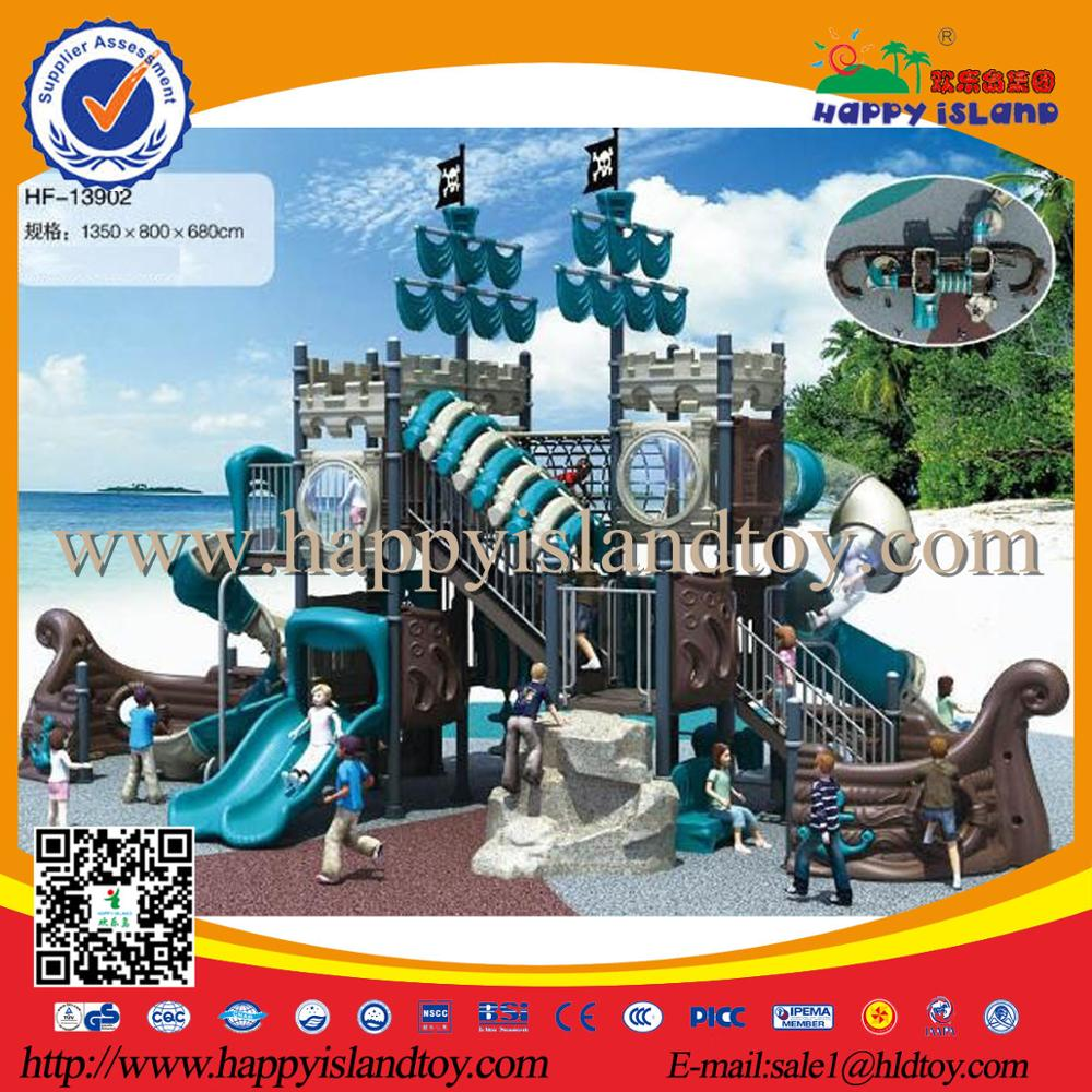 2017 Kids Park Games Commercial Pirate Ship Outdoor Playgrounds