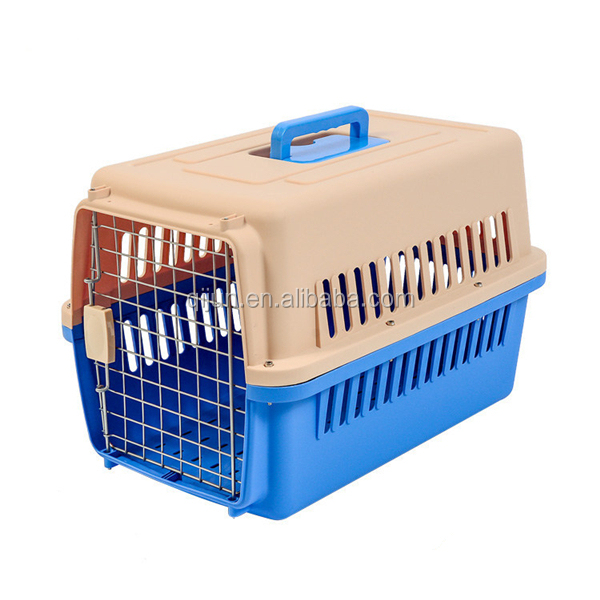 IATA Airline Approved Plastic Dog / Cat Pet Kennel Carrier