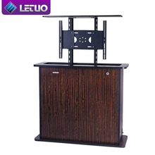 LETUO FS64E manual drop down motorized bed tv lift mechanism motor for 55 inch TV