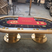 New Design 8 Person Poker Tables