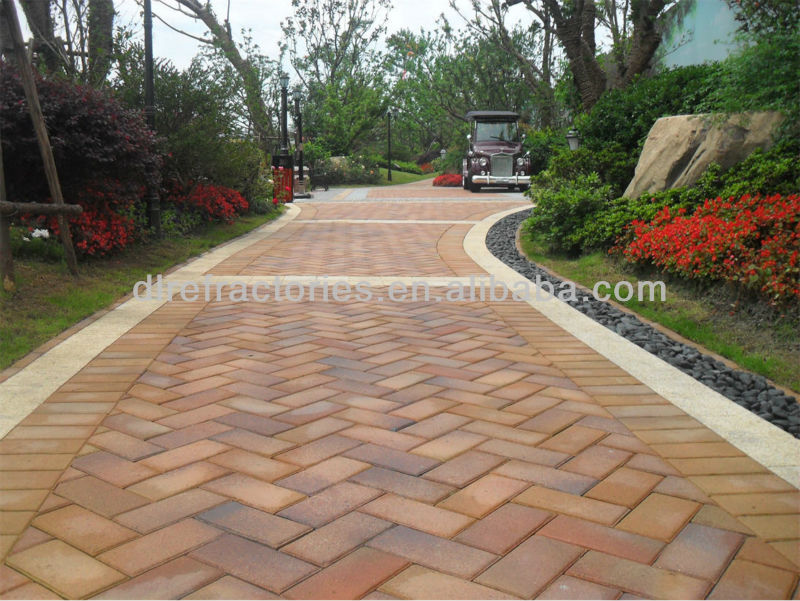 China supplier of good abrasion resistance landscaping clay paving brick