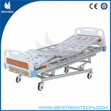 BT-AM002 hospital nursing furniture 4 cranks 5 functions bed hospital bed dimensions manufacturer