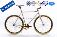 Hangzhou DOMLIN single speed road bike ,700c fixie bike bicycle ,wholesale cheap fixed gear bike bicycles for sale