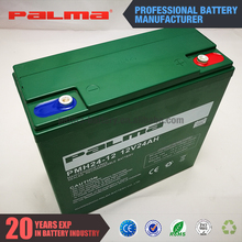 Hot sale 12V 100% real 24ah assurance 12v rechargeable battery
