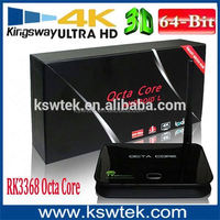 Newest Android 5.1 Product Rk3368 Z4 Octa Core 2Gb 16Gb Z4 Unlock Cable Tv Box better than Mag254/T95/Minix x8h plus