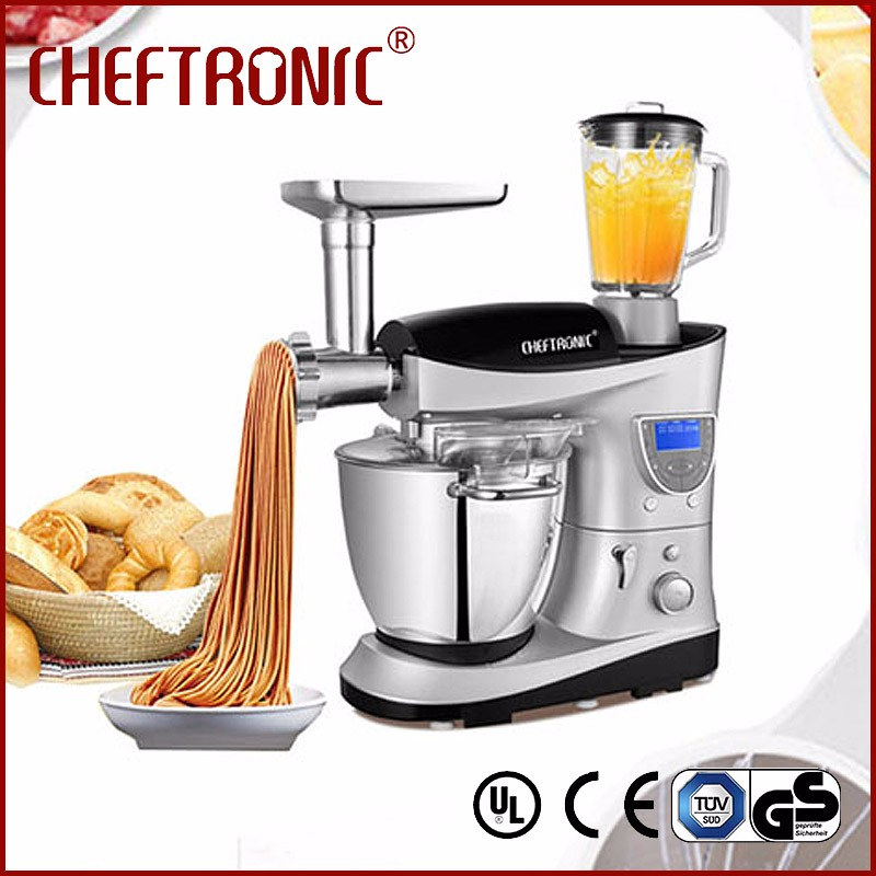 ChefTronic aid food mixers with bowl dough kneader egg mixing mini juicer mixer grinder with rotating bowl