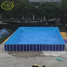 China wholesale factory above ground swimming pool for kids adults