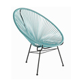 China Supplier Unique Design Rattan Acapulco Chair, Peacock Chair Rattan,acapulco chair