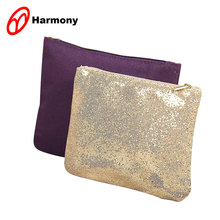 Lady's beauty custom bling makeup bags cosmetic bags