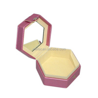Popular Romantic Pink Hexagonal Mirror Box Gift